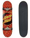 Santa Cruz Skateboard Komplettboard Flame Dot 8.25' (red)