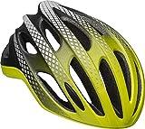 BELL Formula Ghost MIPS - Casco para bicicleta (LED, reflectante, talla S, 52-56 cm), color amarillo y plateado