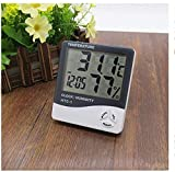 PrinceBeauty HTC-1 Room Thermometer with Humidity Incubator Meter and Accurate Temperature Indicator Wall