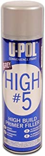 U-POL HIGH 5 HVLP GREY PRIMER Aerosol
