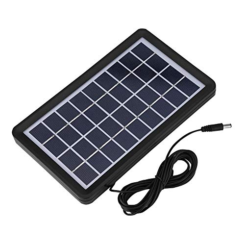 Kafuty wasserdichte 9V 3W Polysilizium Solarzelle für den Außenbereich mit 93% Lichtdurchlässigkeit und 18% Konversionsrate