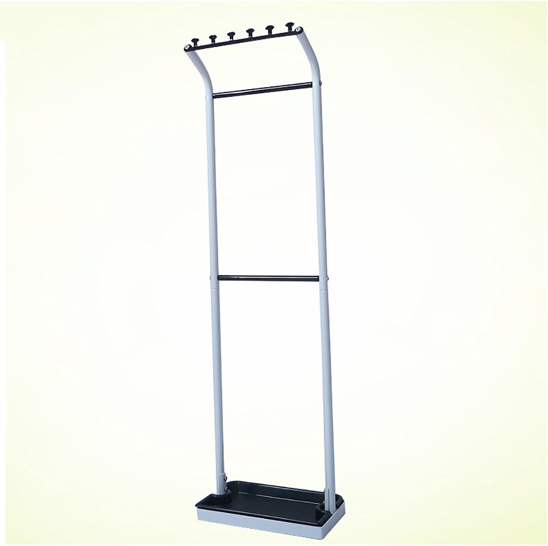 DNSJB White Iron Long Short Handle Umbrella Stand,Household Hotel Tall Umbrella Storage Rack 30  18  108 cm