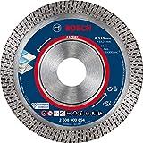 Bosch Professional 1x Dischi Diamantati Expert HardCeramic per Piastrelle dure, Pietra dura, Ø 115 mm, Accessorio Smerigliatrice Angolare Piccolo