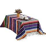 Ethnische Art-Strand-Decken-Picknick-Matten-Ausgangstapisserie-kampierende Decke mexikanische indische handgemachte Regenbogen-Decke