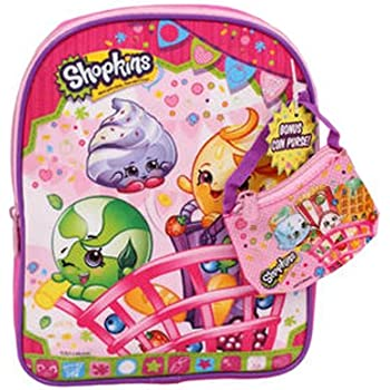 Shopkins Mini Backpack with Coin Bag, Pink, 1 | Shopkin.Toys - Image 1