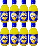 Orangina Sparkling Citrus Beverage with Pulp,10 Fl Oz Glass Bottle (Pack of 8, Total of 80 Fl Oz)
