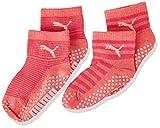 PUMA ABS Baby Socks (2 Pack) Calzini, Violet Purple Combo, 19-22 Unisex-Bimbi