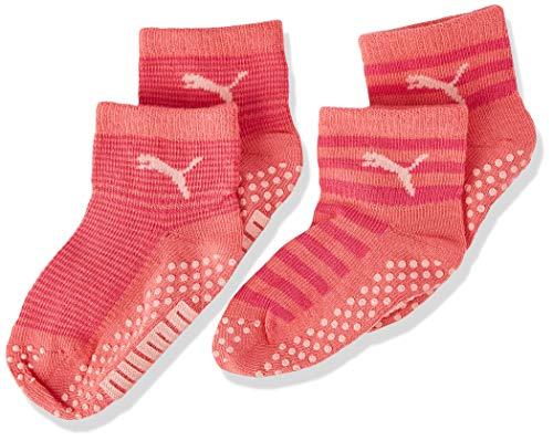 PUMA ABS Baby Socks (2 Pack) Calzini, Violet Purple Combo, 23-26 (Pacco da 2) Unisex-Bimbi
