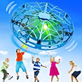 KToyoung Hand Operated Drones for Kids Adults,Hands Free UFO Drone Mini Drone Small Flying Ball Toy Indoor Outdoor Motion Sensor...