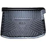 Estera del Maletero del Coche para Mitsubishi ASX, Goma Alfombra Maletero La Bandeja del Piso Alfombrilla Antideslizante Protectora El Transporte Coche Accesorios