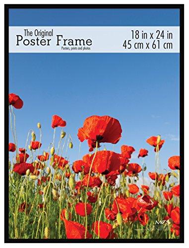 MCS Original Poster 18x24 Inch Frame, Black (23834)