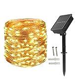 Bombillas Guirnalda de luces decorativas - energía solar