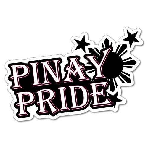 Pinay Pride Filipino Car Laptop Sticker Flag Bumper Water Proof Vinyl