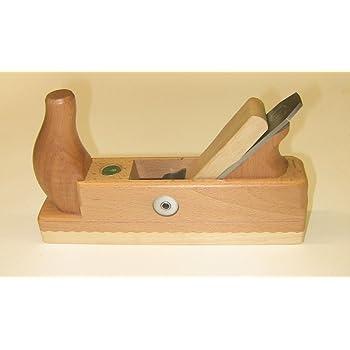 besonders geeignet zum Abschlichten roher Ulmia HW 4-48 Holzhobel Schlichthobel HW4-48 ~ Hobel mit Wei/ßbuchensohle und Einfacheisen geworfener Bretter und Besto/ßen von Hirnholz ~ 240 mm x 64 mm
