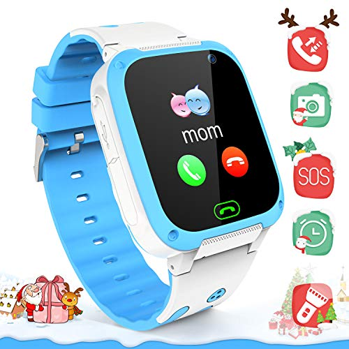 YENISEY Kids Smartwatchs for Boys Girls - Smart Watch LBS Tracker Child Watch Phone Digital Wrist Watch SOS Anti-Lost Alarm Camera Flashlight Phone Watch Kid Watches Electronic Toy for Android/iOS