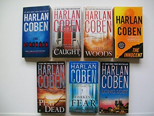 Harlan Coben Set: Stranger; Caught; Woods; Innocent; Play Dead; Long Lost; Darkest Fear