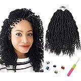 10 Inch Bomb Twist Crochet Braiding Hair...