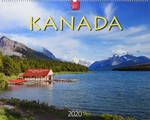 Kanada: Original Stürtz-Kalender 2020 - Großformat-Kalender 60 x 48 cm