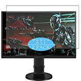 [2 Pack] Synvy Anti Blue Light Screen Protector, Compatible with BenQ GL2706 / GL2706PQ 27' Display Monitor TPU Film Protectors [Not Tempered Glass]