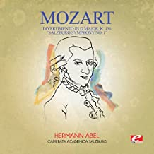 Divertimento in D Major K. 136 Salzburg Symphony 1