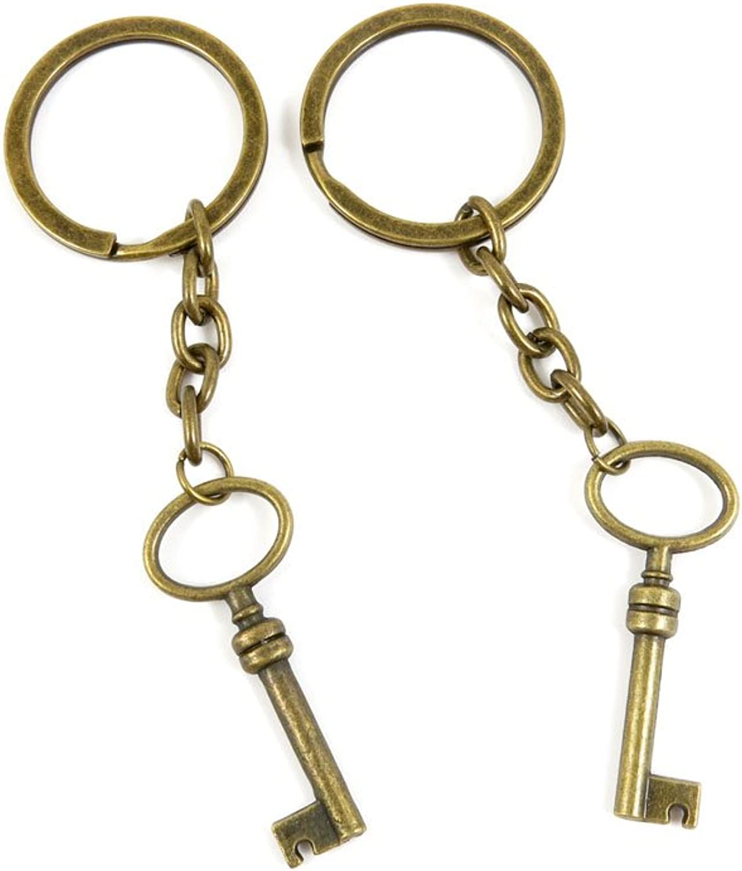 180 Pieces Fashion Jewelry Keyring Keychain Door Car Key Tag Ring Chain Supplier Supply Wholesale Bulk Lots V1UB1 Magic Skeleton Key