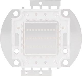 Zerodis Chip LED Ultravioleta Led Chip Purple LED Chips Integrados de Alta Potencia COB Ultravioleta 395-400Nm UV iolet Bombilla Granos de la lámpara DIY Lighting(30W)