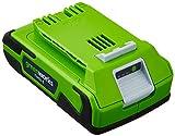 Greenworks Tools 29807 - Batería de ión litio (24 V, 2 Ah)