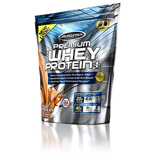 Muscletech 5lb Whey Protein Plus - Chocolate