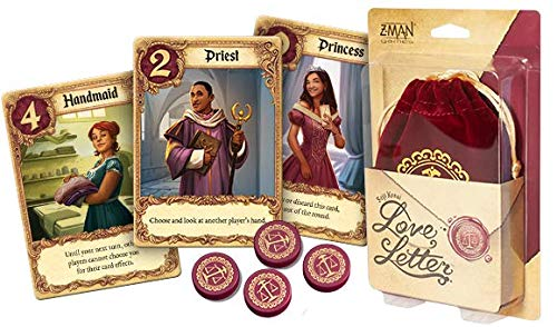Love Letter   New Bag Edition   2-6 Players   20 Minutes Playing Time   Super Fun Party Card Game
