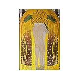 Un Beso para Todo El Mundo De Gustav Klimt Pinturas En Lienzo Ilustraciones Poster E Cuadros Famosos Cuadros De Arte De Pared HabitacióN Decoracion del Hogar 60x80cm Sin Marco