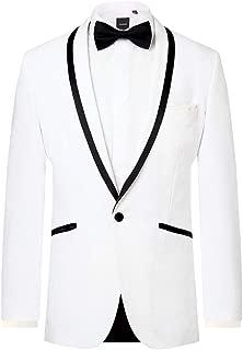 groom white tuxedo jacket
