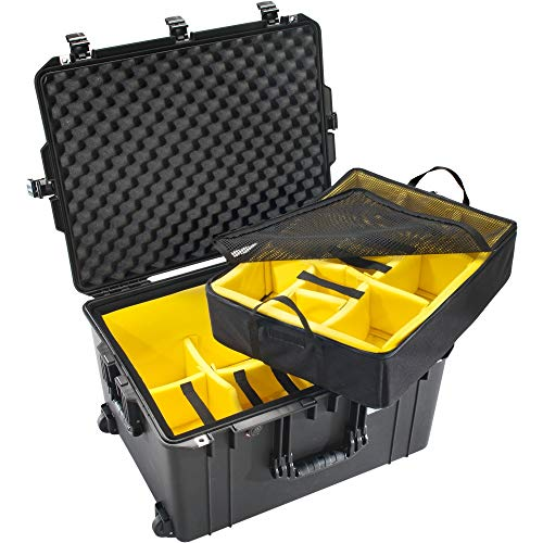 Peli Air 1637 Trolley with Division System Black Protective Case Photo Case Waterproof IP67 Divider Set