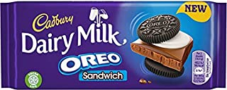 Cadbury Dairy Milk Oreo Sandwich Bar 92g
