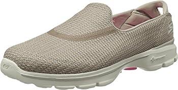 Skechers Performance Women s Go Walk 3 Slip-On Walking Shoe Stone 9 XW US