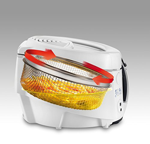DeLonghi F 38436 Roto Fritteuse, weiß - 4