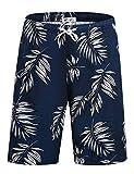 APTRO Men's Swim Trunks Quick Dry Beach Board Shorts Bathing Suits HWP024 L