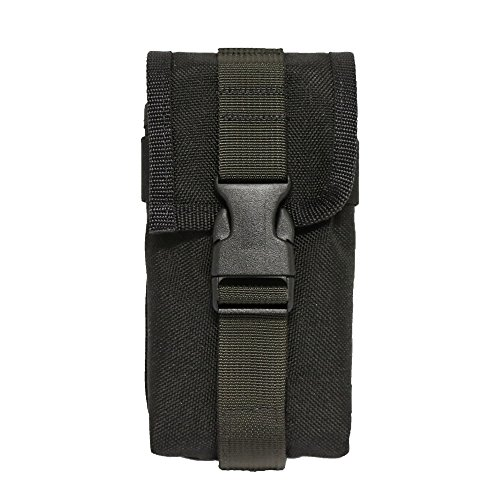 ESEE Sheath Accessory Pouch - Compatible with Models 5/6 - Made in USA (Standard, Black)