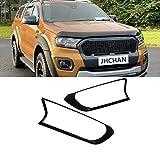 JHCHAN Cubierta de faro Guardia de la lámpara delantera para Ford Ranger T7 T8 2015-2020 Wildtrak XL XLT XLS Limited 2 PX MK2 MK3