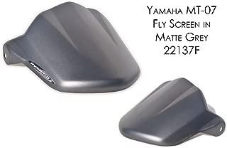 Yamaha MT07 / FZ07 Fly Screen: Matt Grey 22137F