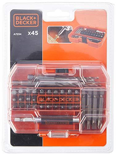 BLACK+DECKER A7234-XJ 27 Piece Drill Set, Orange