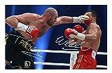 Tyson Fury & Wladimir Klitschko Signiert Autogramme 21cm x