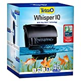 Tetra Whisper IQ Power Filter 45 Gallons, 215 GPH, With Stay Clean Technology
