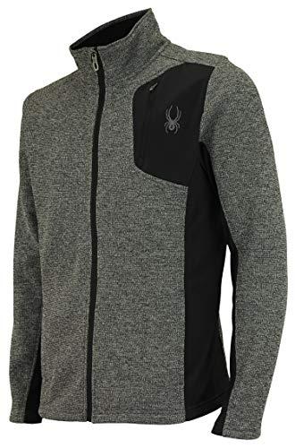Spyder Men Raider Full Zip Sweater Polar Marble Size M
