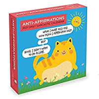 Anit-affirmations Daily 2021 Calendar