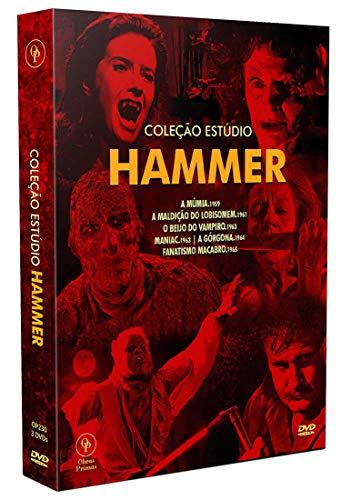 Coleção Estúdio Hammer [Digistak com 3 DVD's]