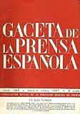 GACETA DE LA PRENSA ESPAÑOLA. Nº 107. El 'Diario de Ávila' cumple 60 años. Una nueva revista:...