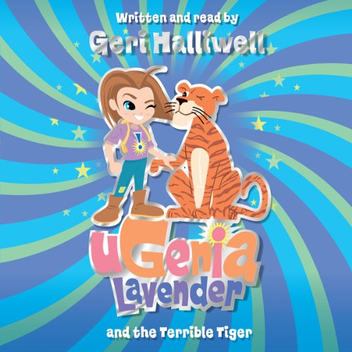 Ugenia Lavender and the Terrible Tiger audiobook cover art