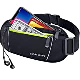 Befekt <span class='highlight'>Gear</span>s <span class='highlight'>Running</span> Belt, Waterproof Waist Pack with Large Capacity, Sweat-proof Adjustable Elastic Strap and Headphone Hole Ideal for All Mobile Phones up to 6.5 inch