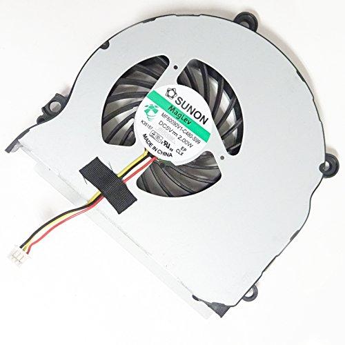 Bucom CPU Lüfter für Samsung NP355 NP350V5C NP350E7C NP355V5C NP355E5C Fan Kühler 3PIN Ventilator Cooler