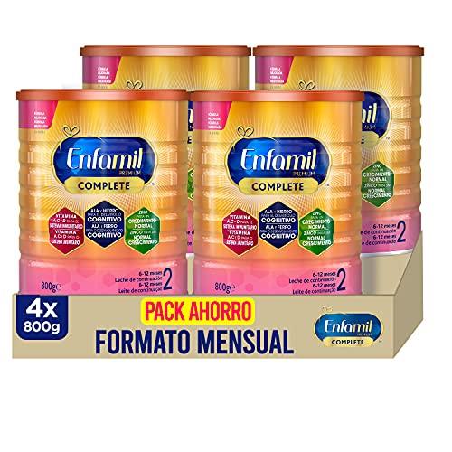 Enfamil Complete 2 - Fórmula leche infantil de continuación para lactantes bebés de 6 a 12 meses...